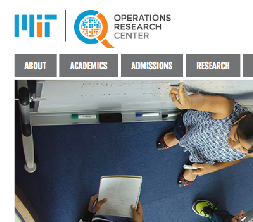 Operations Research Center website