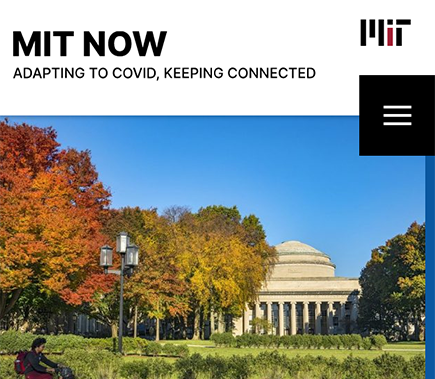MIT Now website